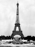 Eiffel Tower, Paris France, 1964 Photo