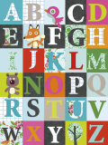 Alphabet Posters by Virginie Graire
