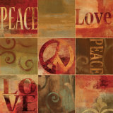 Peace Sign Posters by Luke Wilson