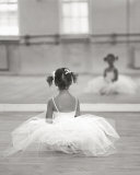 Little Ballerina Print by David Handley