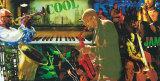 Kul jazz Kunst av Tyler Burke