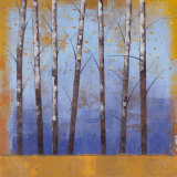 Birch Trees II Posters by Cheryl Martin