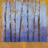 Birch Trees II Prints by Cheryl Martin