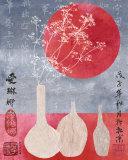 Asia Grasses Kunstdrucke von Helene Druvert