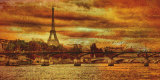 Remembering Paris Prints by Julia Casey