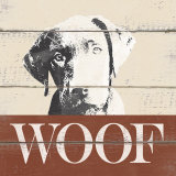 Woof Print by Krissi 