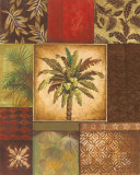Palm Collage II Prints by Gregory Gorham