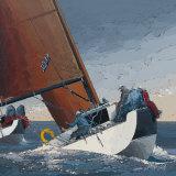 Au Rappel sur Tribord Posters by Guy Dekeryver