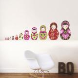 Russian Dolls - Duvar Çıkartması