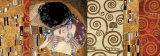 Deco Collage (from The Kiss) Psters por Gustav Klimt