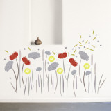 Wild Flowers Wall Decal
