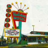 Holiday Motel: Miami Highway Posters by Ayline Olukman