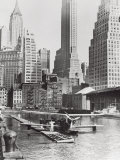 Airplane Landing in Manhattan, c.1934 Print