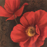 Rouge Poppies II Prints by Jordan Gray