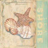 Sea Shore Prints by Pamela Desgrosellier