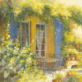 Bouquet de Fleurs Prints by Johan Messely