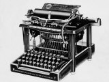The Remington No.2, the First Typewriter Capable of Printing Lower and Upper Case Letters, 1878 Photo