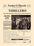 Thriller!!! Plakater