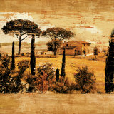 Tuscan Countryside I Art by Colin Floyd