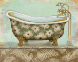 Tropical Bath II Prints by Todd Williams