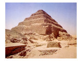 The Step Pyramid of Zoser, Iii Dynasty, Old Kingdon, 2590 B.C Posters
