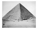 The Great Pyramid of Cheops, Iv Dynasty, 2680 B.C, 1880 Photo