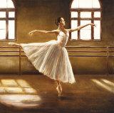 Danseuse de ballet Affiches par Cristina Mavaracchio