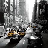 Sunset on Broadway, New York Kunstdrucke von Dominique Obadia