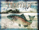 Lakeview Prints by Paul Brent