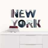 New York Autocollant mural