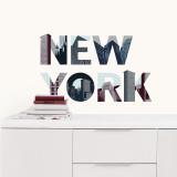 New York Autocollant