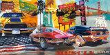 Muskelbilar Affischer av Ray Foster