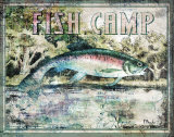 Fish Camp Posters by Paul Brent