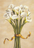 Bouquet Bianco Prints by Lisa Corradini