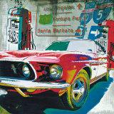 Ventura Freeway Poster von Ray Foster