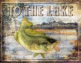 Al lago Lámina por Paul Brent