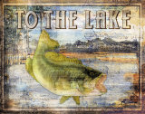 To the Lake Print by Paul Brent