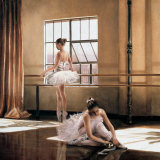 Rehearsal I Plakat af Cristina Mavaracchio