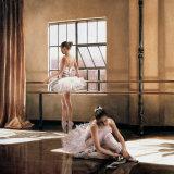 Rehearsal I Kunstdruck von Cristina Mavaracchio