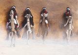Les Cavaliers de l'Aube Prints by Cédric Cazal