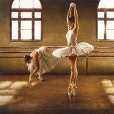 Ballet Dancers Poster by Cristina Mavaracchio