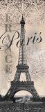Eiffelturm Poster von Todd Williams
