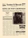 King of Pop Crowned Pósters