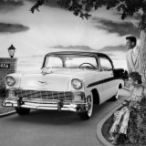 1956 Chevrolet Bel Air Sport Coupe Posters