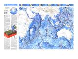 1992 Indian Ocean Map Posters