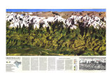 1988 High Himalaya Map Posters