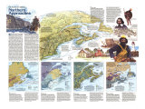 Northern Approaches- Maine to the Maritimes Map Poster, 1985, side 2
