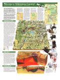 1989 Yellowstone and Grand Teton Map Side 2 Posters