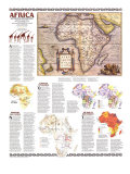 1980 Africa, Its Political Development Map Posters by  National Geographic Maps