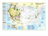 1996 Federal Lands in the Fifty States Posters